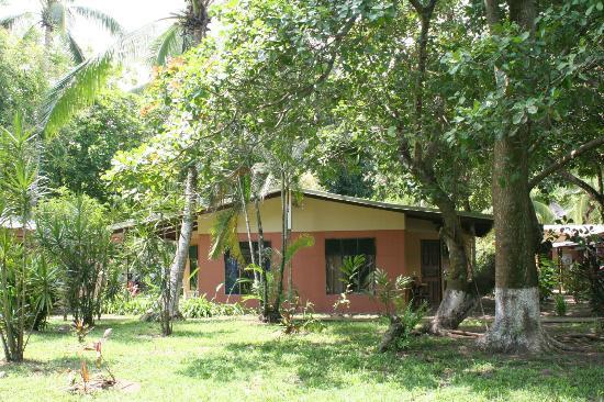 El Coquito: One of the beach Cabinas 