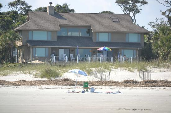 "Port O'Call Shipyard Plantation : ""my spot"" on the beach--very private"
