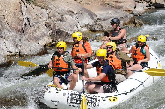 Poncha Springs, CO: Canyon Marine Whitewater