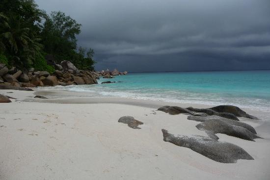 Anse Georgette: Spiaggia