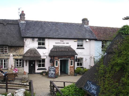 The Smuggler's Inn: First view of the Inn