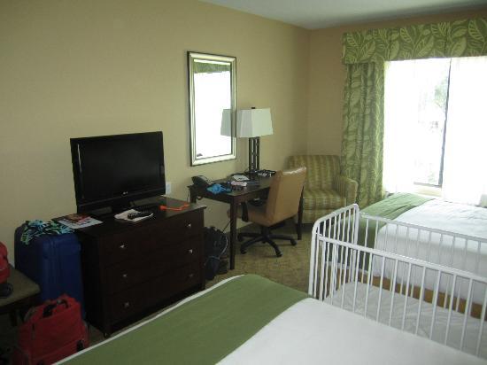 Holiday Inn Express & Suites Tampa USF-Busch Gardens: unser Zimmer