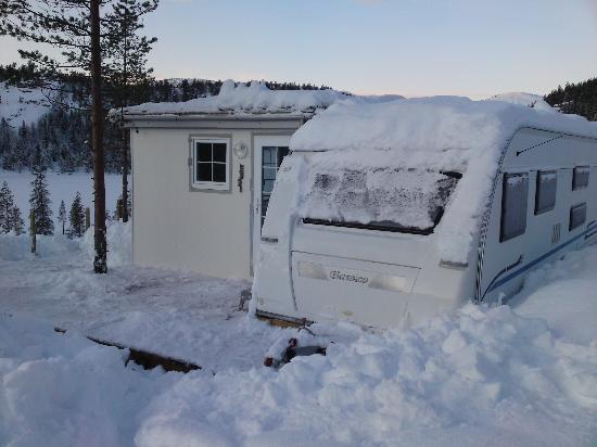 Bortelid Camping: vinter 2011