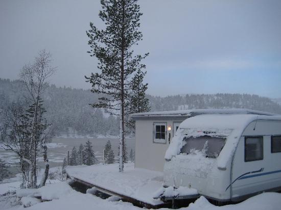 Bortelid Camping: vinter 2012