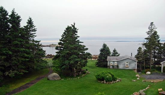 Oceanstone Resort : view from honeymoon suite