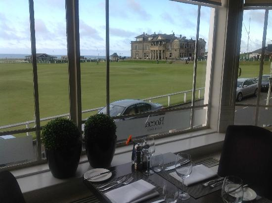 Rocca Restaurant: The Magnificent View from the Window of One of Golf's Most Iconic Sights