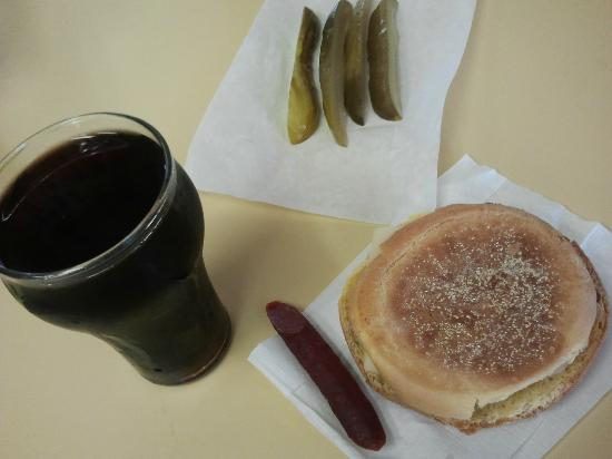 Wilensky's Light Lunch: le spécial + cherry coke