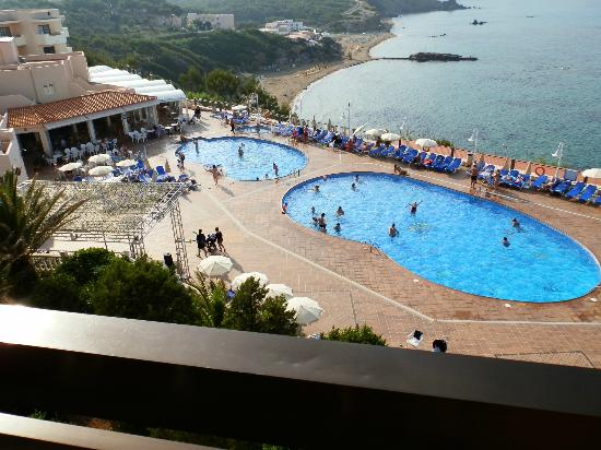 Invisa Hotel Club Cala Verde : View from balcony