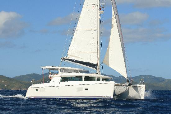 Restless Native Charters - Day Sails : Aria in the Caribbean