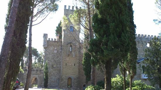 Castello di Monterone: Vista del castello