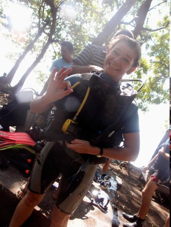 Amed Scuba Tauchzentrum: All smiles after another amazing underwater adventure