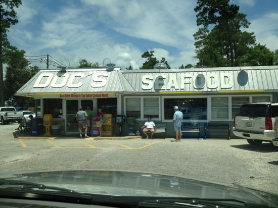Doc's Seafood Shack and Oyster Bar: you are here
