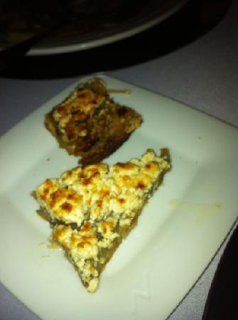 Restaurant Oustau de Altea: goat chese eggplant pie