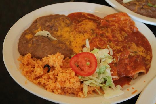 Grumpy Gringo: Lunch plate