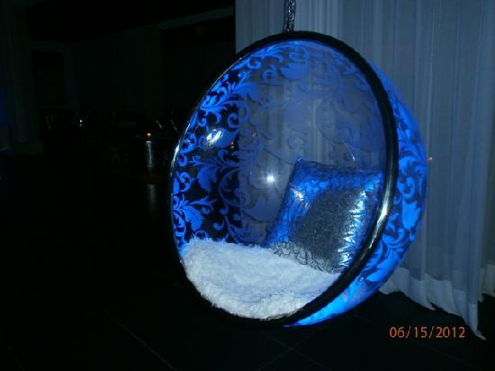 Sofitel Agadir Thalassa Sea & Spa: bar chair