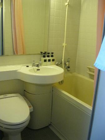 Tokyo Hotel Horidome Villa: Bathroom was small but functional