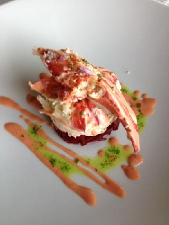 Rossmount Inn: Lobster starter at Rossmount