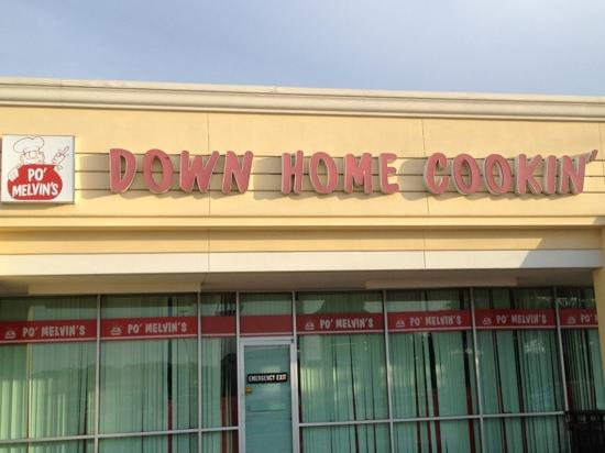 Po' Melvin's Down Home Cookin: worth the visit...