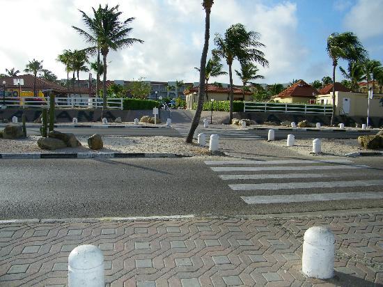 From Eagle Beach looking at La Cabana
