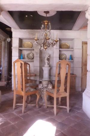 Estancia Santa Rita: salón 