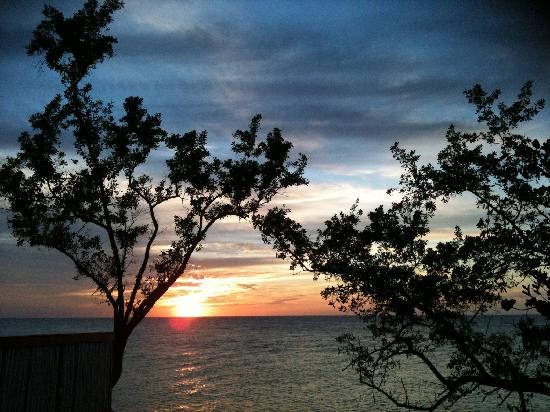 Xtabi Resort: View from Cottage 3 verandah