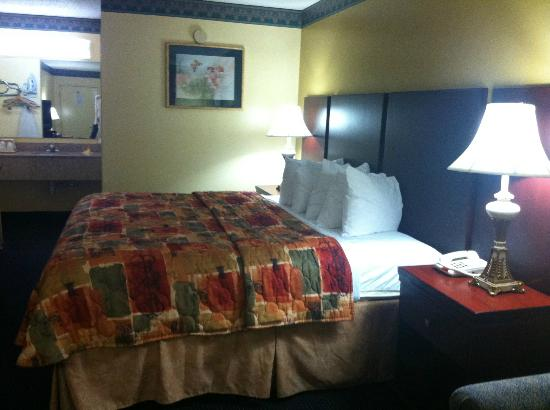 Chipley Days Inn: Single Bed