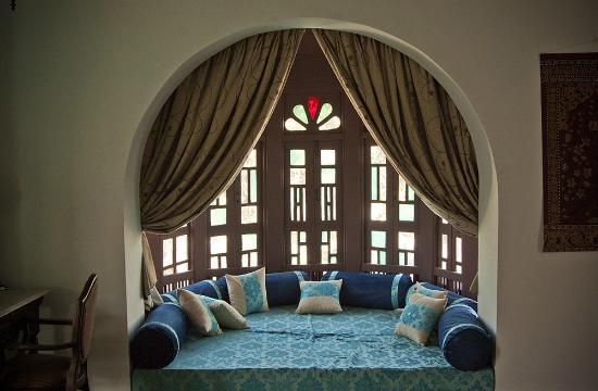 Divan's Bungalow : Alcove in the Siraj Khana suite