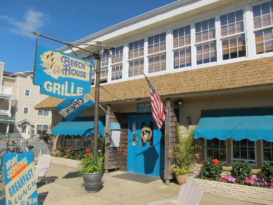 The Beach House Grille In Ocean City Nj