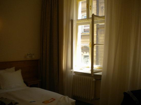 Unitas Hotel: Janela do nosso quarto