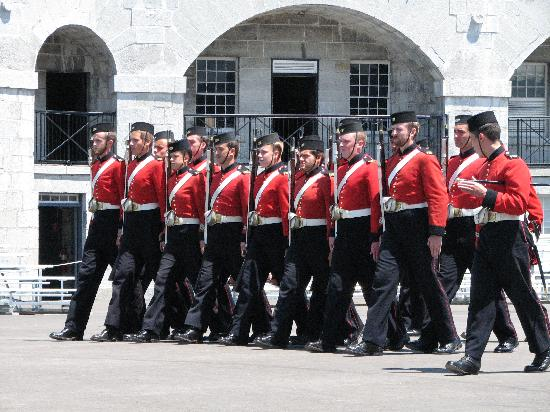Fort Henry (Fort Henry National Historic Site): The Guard