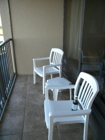 Quality Inn Carolina Oceanfront: Small Private Balcony 3rd Floor