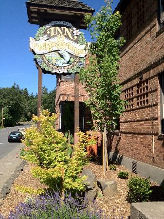 Inn of the White Salmon: New land scape was part of our Arbor Day spring renovations.