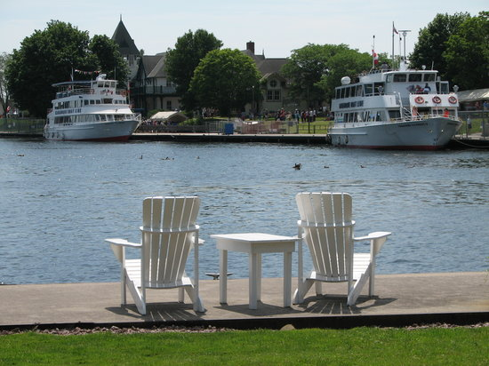 The Gananoque Inn and Spa: The best seats