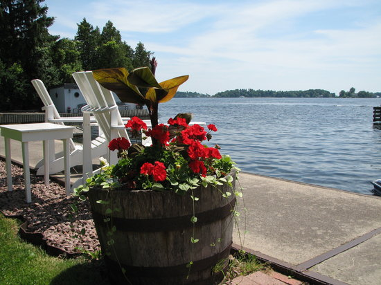 The Gananoque Inn and Spa: Perfect view
