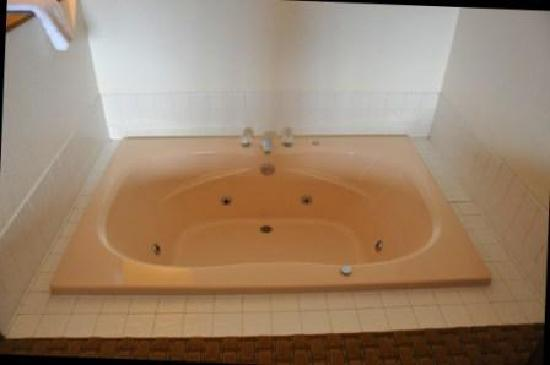 Best Western By Mammoth Hot Springs: Kinda funny tub-tough w/bad knees!
