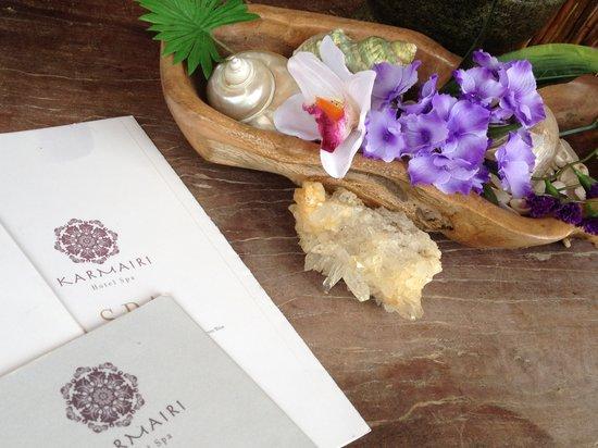 Karmairi Hotel Spa : Spa
