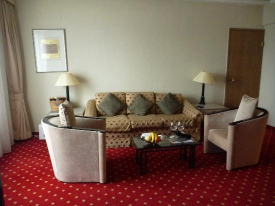 Kempinski Hotel Beijing Lufthansa Center: Sitting Area