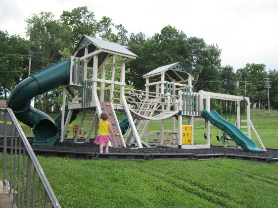 Hershey Farm Inn: New playground