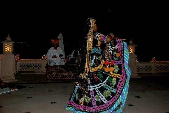 Vivanta by Taj - Hari Mahal, Jodhpur : Evening entertainment at the hotel
