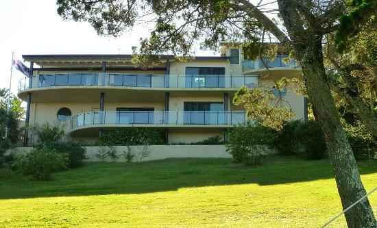 Ballina Leisure Lee Holiday Apartments: allure apartment is centre left