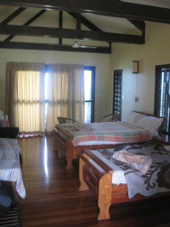 Namuka Bay Lagoon Resort: The villa