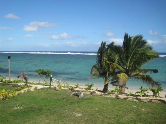 ناموكا باي لاجون: The view from the villa 