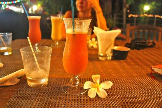 Bluewater Lodge : Delicious Cocktail with Fijian Rum