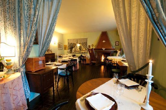 Palazzuolo Sul Senio, Itália: sala ristorante
