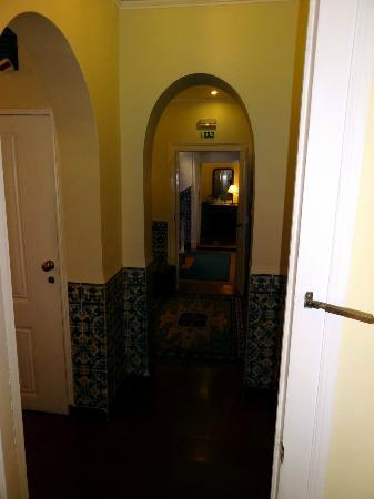 Residencial Florescente: Couloir