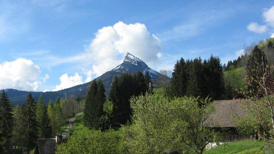 Le ValOmbre : View of Mt Chamechaude from the terrace