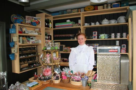 Freilichtmuseum Árbæjarsafn: The old candy store from the early 1900s
