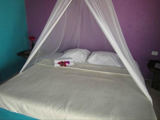 Nacional Beach Club & Bungalows: Our room, fresh flowers each morning