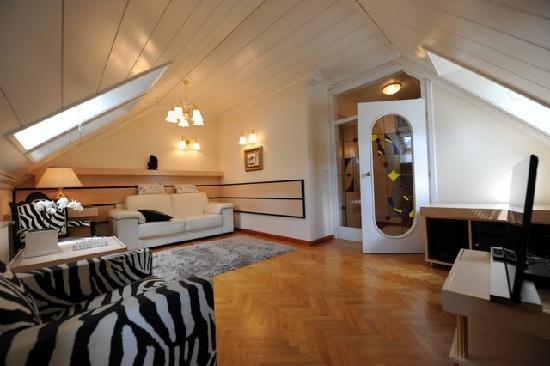 Vila Istra: Living room