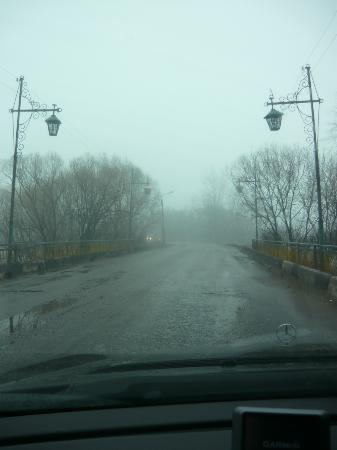 Gavrilov Posad, Russia: Гаврилово-Посад этюд с фонарями
